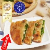 老北方厚片蔥油餅-蔥量加倍(5片/包)x12包-(免運)