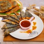 紫菜海鮮煎餅-6片組(共3包)-(免運)