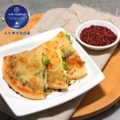 老北方紅藜蔥油餅X4盒-(免運)